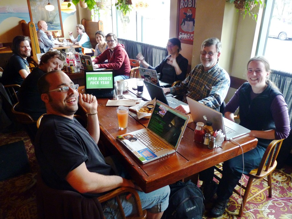 Pfeffer, Power and the Open Source Community: writing software as a political process